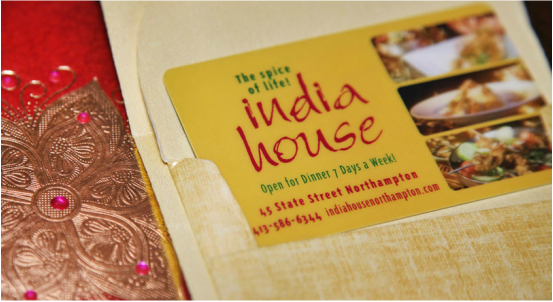 Gift Cards for India House Restaurant